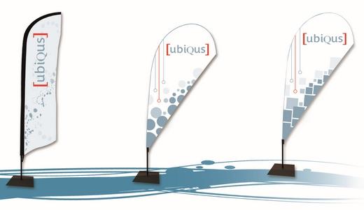 La signalétique événementielle Ubiqus est dans la news Evénément 3.0 de juin consacrée aux solutions éco- responsables pour les événements !