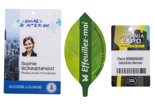 Badges personnalisés Ubiqus 520 x 360