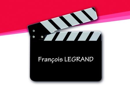 Badge forme de découpe spéciale Clap de cinéma