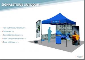 Signalétique Outdoor - Couv catalogue